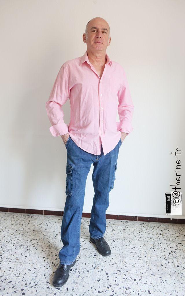 Michel sidobre debout ete rose