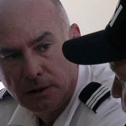 Le capitaine dans Overcast